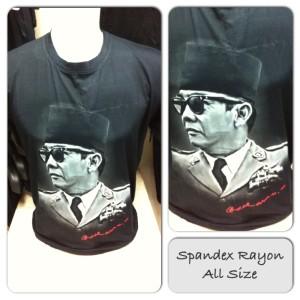 Kaos Spandex Figur/Tokoh Soekarno FIG215