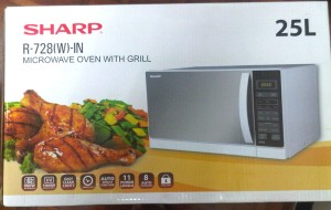 Sharp Microwave Oven Grill R-728 R-728(W)-IN White