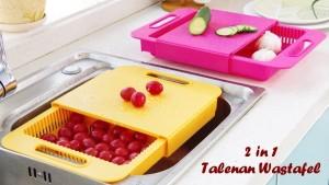 2 in 1 TALENAN WASTAFEL/ TIRISAN AIR SAYUR/ TALENAN PRAKTIS UNIK