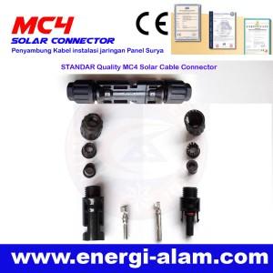 Konektor MC4 Panel Surya / Solar Connector - STANDAR Quality 6MM