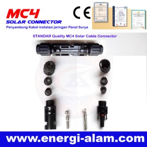 Konektor MC4 Panel Surya / Solar Connector - STANDAR Quality 4MM
