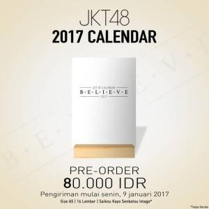 JKT48 Calendar 2017