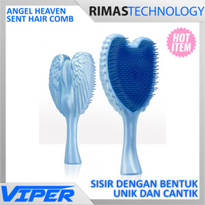 harga Angel Heaven Sent Hair Comb / Sisir Rambut Berbentuk Sayap Bidadari Te Tokopedia.com