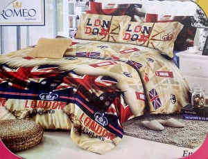 Bedcover Romeo ukuran 180 x 200 / King / No.1 – London