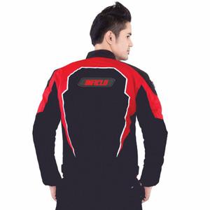 jaket Murah Jaket Motor | Riding | Touring Pria | Hitam Merah - Inficl