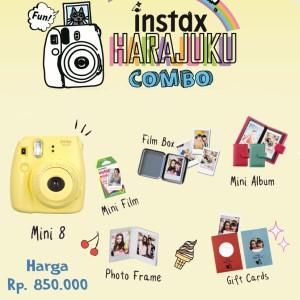 Fujifilm Instax Harajuku Combo Mini 8