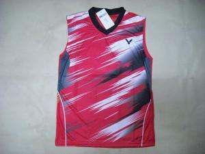BAJU Badminton / Bulutangkis Singlet Victor V.19 Red