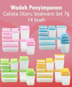 Rsm Calista Otaru Sealware Set 7g 14 Buah Daftar Harga Terkini dan Source · Calista Otaru Sealware Original Isi 14 Pcs Wadah Penyimpanan