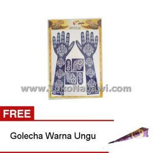 ... Gambar Tato Pewarna Henna Cone Warna Warni . Source · Cetakan Henna Tangan Full FREE Golecha Heena 1 pcs / Buy One Get One