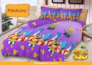 Sprei D'luxe Kintakun ukuran 120 x 200 – Pikachu