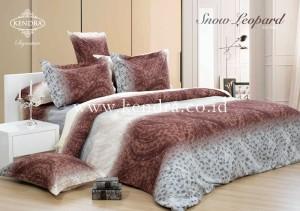Bedcover Kendra Signature 180 Tinggi 30 motif Snow Leopard