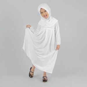 Harga Baju Gamis Anak Putih Murah