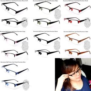 kacamata original half frame anti patah premium fullset