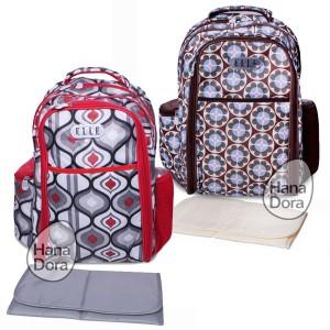 harga ELLE Tribal Backpack Diaper Bag - Tas Bayi Ransel Tokopedia.com