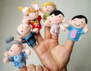 Boneka Jari Family