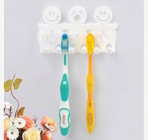 HG039 Smiley Toothbrush Holder Gantungan Tempat Sikat Gigi Hook