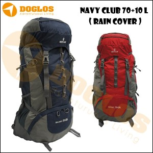 Tas Gunung Keril Navy Club 70+10 L 5034 carrier hiking mountain