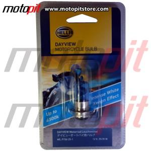 Lampu Motor Hella Day View M5 k1 35W Warna Putih 4500K, Terang & Fokus
