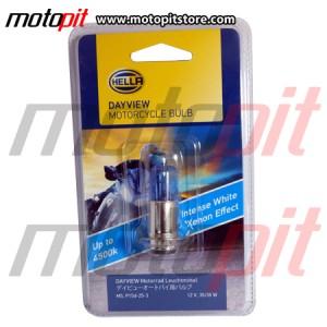 Lampu Motor Hella Day View M5 k3 Warna Putih 4500K, Terang & Fokus