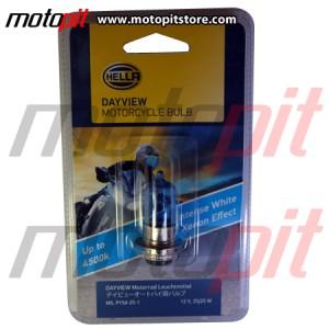 Lampu Motor Hella Day View M5 k1 25W Warna Putih 4500K, Terang & Fokus