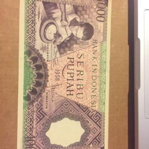 harga uang kuno antik 1000 Tokopedia.com