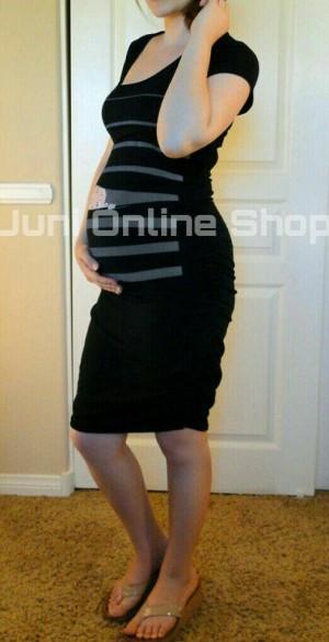 Baju Hamil Karakter Maternity Dress BP1 Hitam