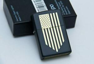harga zippo america flag golden black matte grade original Tokopedia.com