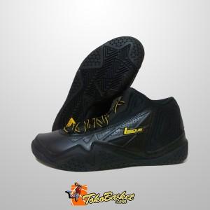 Sepatu Basket League Levitate Hitam Original