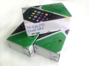 Nokia 215 Dual SIM, Camera, Bluetooth V3.0, Internet, Mp3 Player