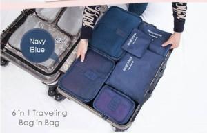 harga Laundry pouch 6in1 / travel bag organizer / luggage / tas dlm koper Tokopedia.com