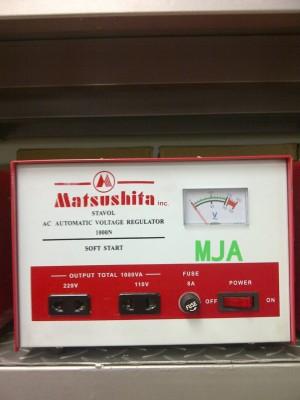 harga Alat Penstabil Listrik/Stavol/Stabilizer/Stabiliser Matsushita 1000va Tokopedia.com