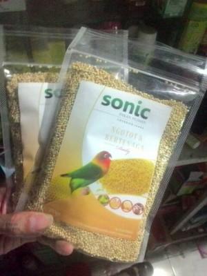harga Sonic Daily Lovebird Pakan Harian Burung Lovebird dan Ternak Tokopedia.com