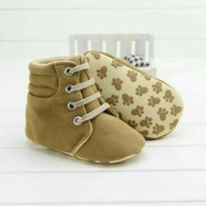 harga Sepatu prewalker bayi import boot beige tali beige - NEW MODEL Tokopedia.com