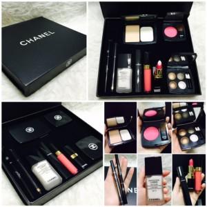 CHANEL KOSMETIK PALETTE / Make Up palet kit / replika