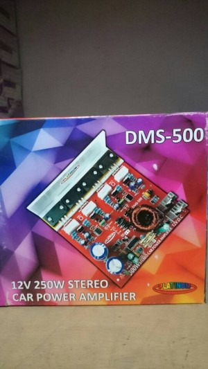 12V 250W Stereo car  power ampli dms-500