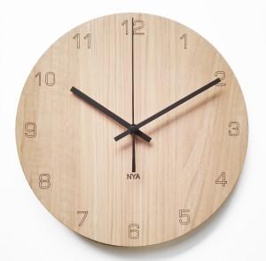 harga Jam Dinding Unik dari Kayu Basik Maple Number Tokopedia.com