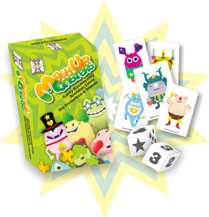 Mashup Monsters Card Game