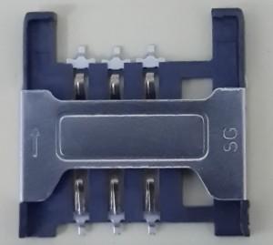Rumah Konektor Kaki Kartu SIM Modem WIFI Router Bolt ZTE MF90