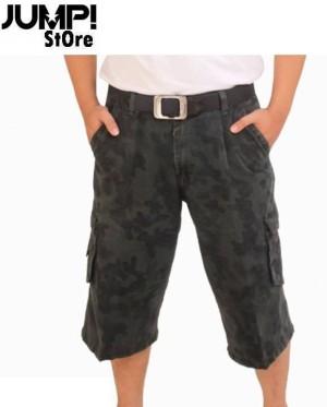 Celana Pendek Cargo / Kargo Soft Jeans Army