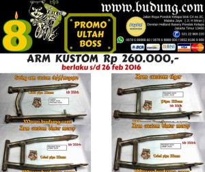 Swing arm custom promo scorpio,tiger,cb,megapro