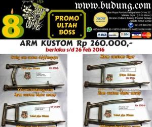 harga Swing arm custom promo scorpio,tiger,cb,megapro Tokopedia.com