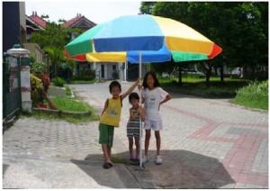 Tenda Payung Pantai / Cafe 180cm