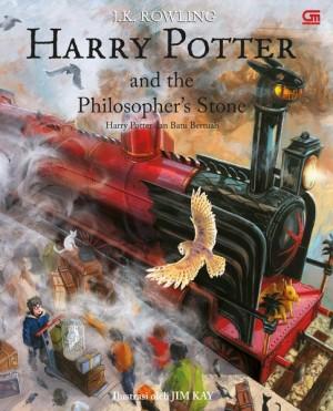 harga Harry Potter dan Batu Bertuah Illustrated Edition Tokopedia.com