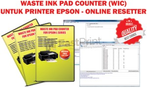 WIC (Waste Ink Pad Counter) Resetter Utility Khusus Printer Epson