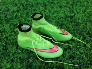 Sepatu Bola Nike Mercurial Superfly Green Volt