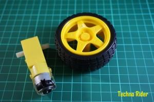 Motor DC + Roda Robotic arduino robot