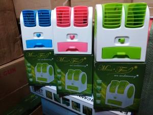 Double Window Air Cooler / Kipas Angin Meja / Duduk / USB