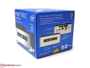 Mini PC INTEL NUC NUC5 I3RYH-4H500 (I3 2,1GHz, 4GB, 500GB)