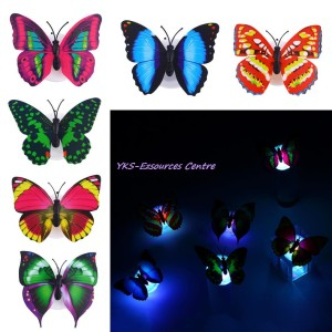 harga Lampu Kupu-kupu Unik bisa Menyala 7 Warna Tokopedia.com
