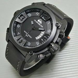 Jam Tangan Quicksilver Leather ( Jam Pria,Rolex,Seiko,Tissot,Gc )